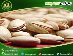قیمت پسته بادامی - بازرگانی امین پسته